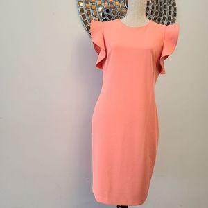 Calvin Klein Coral Color Sleeveless Size 12 Women
